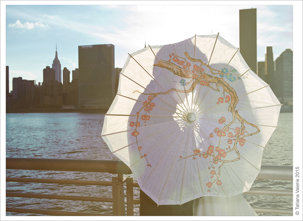 Long Island City Promenade Wedding Shoot
