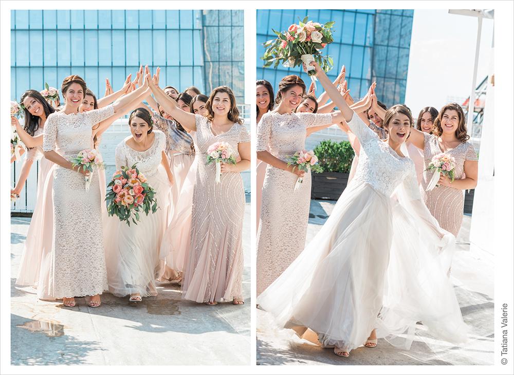 Modern Orthodox Jewish wedding at Studio 450 NYC Manhattan
