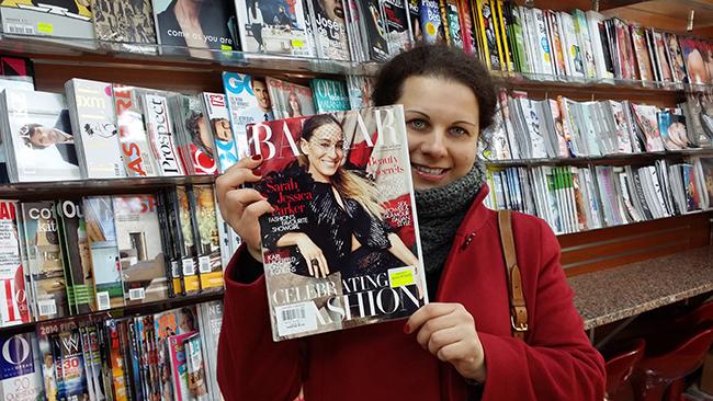 Tatiana Valerie's photography is featured in Harper's Bazaar