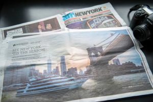 Tatiana Valerie's photography is featured in AmNew York newspaper