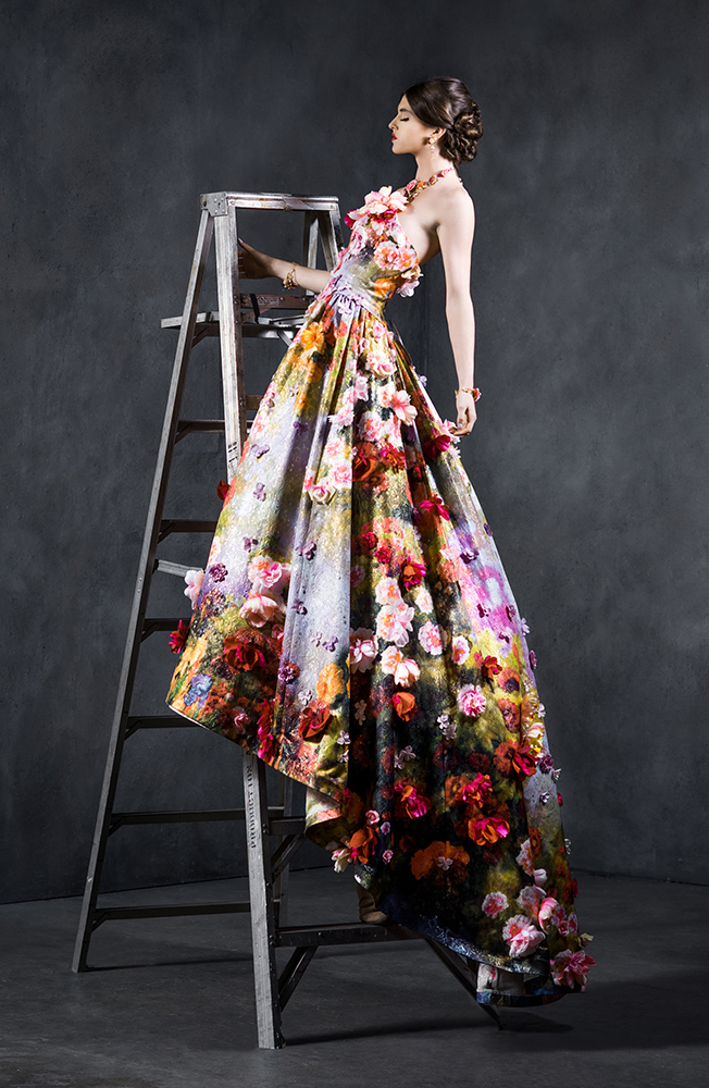 A stunning $75,000 dress from Yumi Katsura