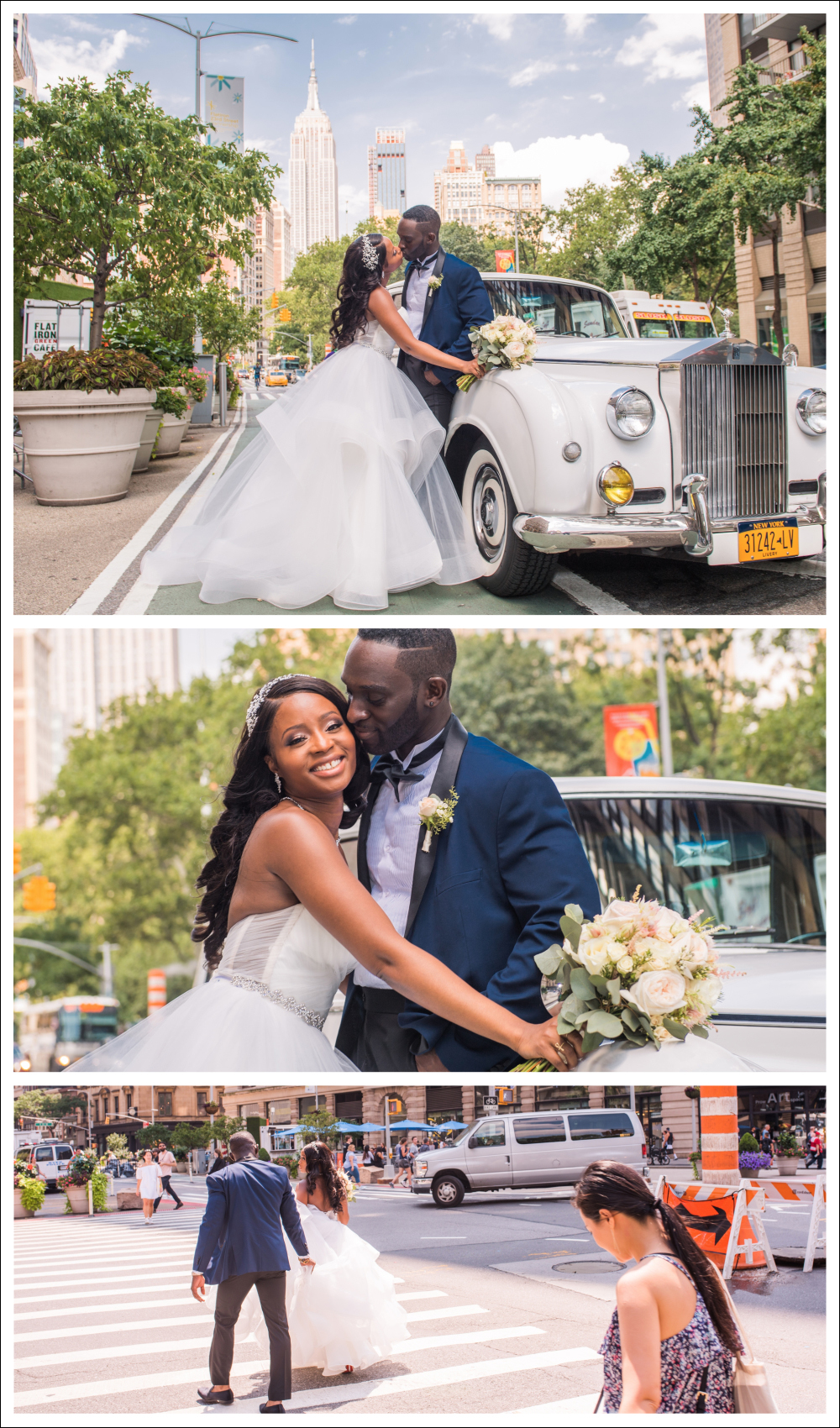 Celestial wedding at Marmara hotel and Midtown Loft & Terrace, NYC