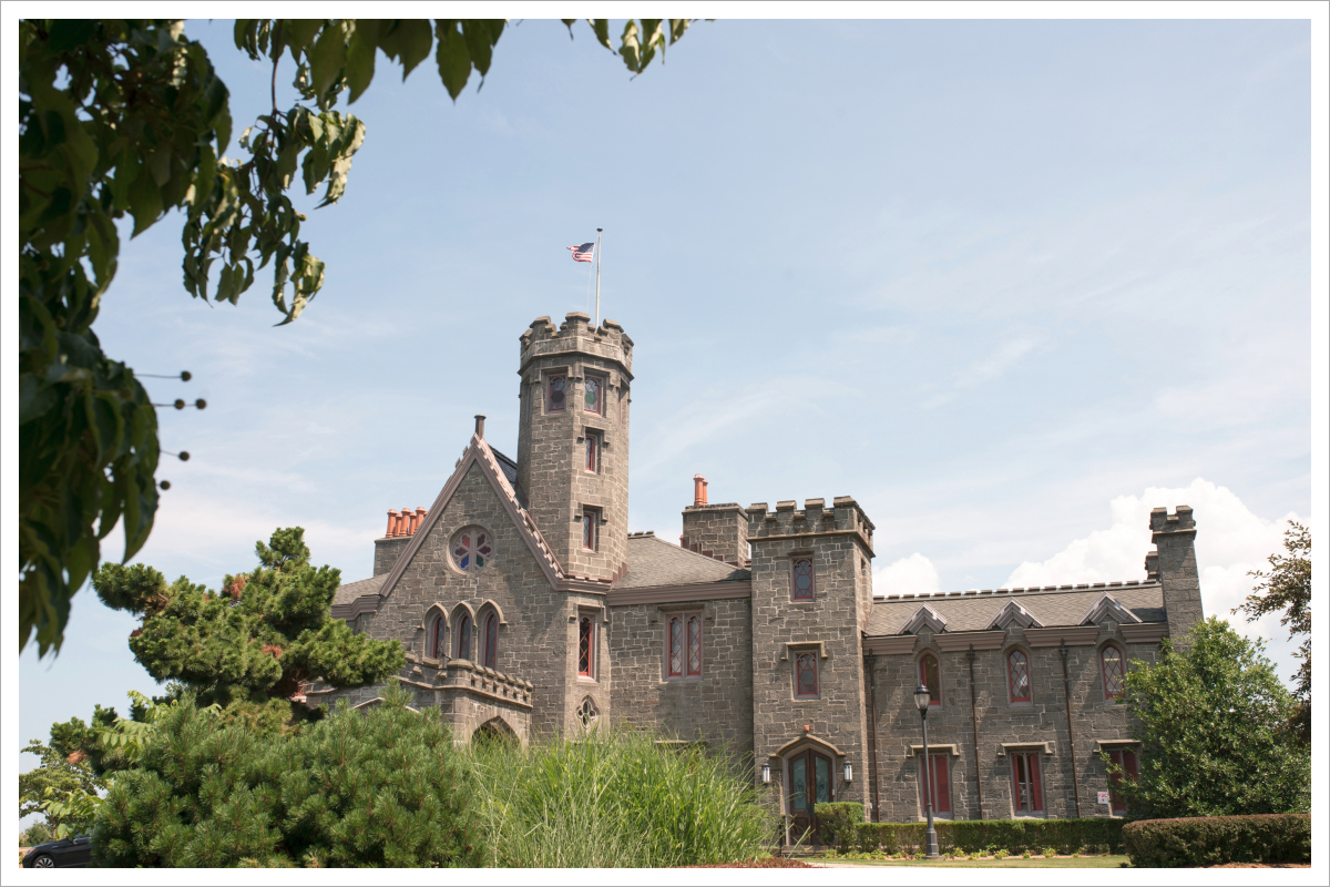 Summer Wedding at Whitby Castle Rye NY